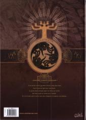 Verso de L'ordre des dragons -1- La lance