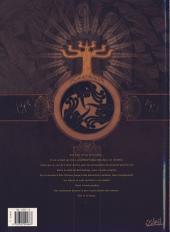 Verso de L'ordre des dragons -2- Le mont Moïse