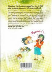 Verso de Otaku girls -1- Tome 1