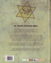 Verso de Paroles d'étoiles - Mémoires d'enfants cachés, 1939-1945
