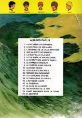 Verso de La patrouille des Castors -21- Passeport pour le néant