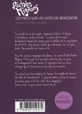 Verso de Péchés mignons (Les petits) -2- Les mecs sur les sites de rencontre