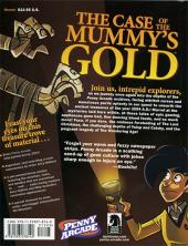 Verso de Penny Arcade -5- The case of the mummy's gold