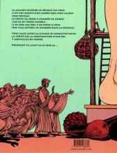 Verso de Petit conte léguminesque - Petit conte léguminesque (ou comment le colosse de Rhodes a été construit)