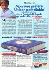 Verso de Picsou Magazine -135- Picsou Magazine N°135