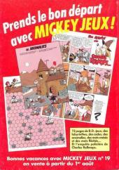 Verso de Picsou Magazine -174- Picsou Magazine N°174