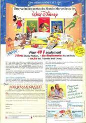 Verso de Picsou Magazine -213- Picsou Magazine N°213