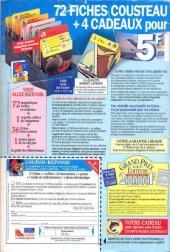 Verso de Picsou Magazine -253- Picsou Magazine N°253