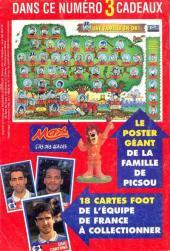 Verso de Picsou Magazine -292- Picsou Magazine N°292
