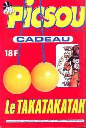 Verso de Picsou Magazine -332- Picsou Magazine N°332