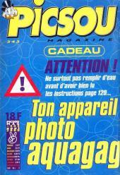 Verso de Picsou Magazine -343- Picsou Magazine N°343