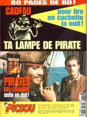 Verso de Picsou Magazine -385- Picsou Magazine N°385
