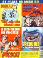 Verso de Picsou Magazine -388- Picsou Magazine N°388