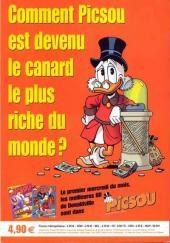 Verso de Picsou Magazine Hors-Série -2- La jeunesse de Picsou
