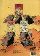 Verso de Pierre Tombal -1a1987- Les 44 premiers trous