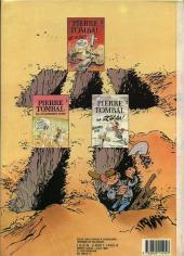 Verso de Pierre Tombal -3a1987- Mort aux dents