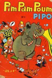 Verso de Pim Pam Poum (Pipo - Mensuel) -1- Mensuel n°001