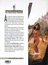 Verso de Les pionniers du Nouveau Monde -3b- Le champ d'en haut