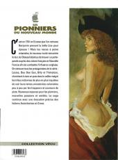 Verso de Les pionniers du Nouveau Monde -8a00- Petit homme