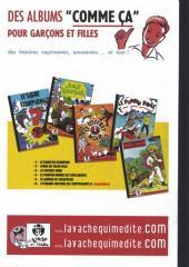 Verso de Pompon Rouge (Les Aventures du) -10- Le Jaguar de Taxapulca