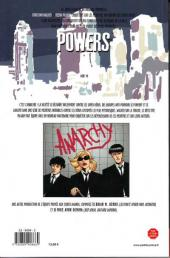 Verso de Powers -5- Anarchie