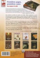 Verso de (DOC) Études et essais divers - Premières pages, premières cases - Du roman à la BD