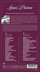 Verso de BD Voices -4- Louis Prima