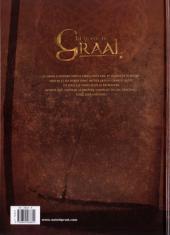Verso de La quête du Graal -2- Le tombeau de Balor