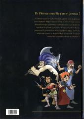 Verso de Relais & Mago -1- Les aventuriers de la Tourte Sacrée
