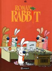 Verso de Les rabbit -1- Carotte Power