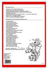Verso de (Recueil) Spirou (Album du journal) -300- Spirou album du journal