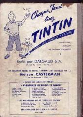 Verso de (Recueil) Tintin (Album du journal - Édition française) -53- Tintin album du journal