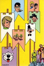 Verso de (Recueil) Tintin (Pocket Sélection) -23- Entièrement inédit ! - Un roman complet de BERNARD PRINCE