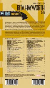 Verso de BD Ciné -4- Rita Hayworth