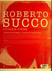 Verso de Roberto Succo - Coupable d'être schizophrène