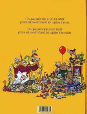 Verso de Le roi Catastrophe -2- Adalbert perd les pédales