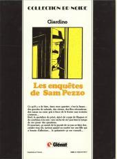 Verso de Sam Pezzo (Les enquêtes de) -1a82- Tome 1