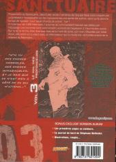 Verso de Sanctuaire Reminded -3- Le mal des profondeurs
