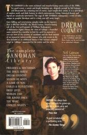 Verso de Sandman (The) (1989) -INT03- Dream country