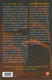 Verso de Sandman -9- Les bienveillantes