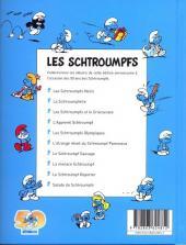 Verso de Les schtroumpfs (Édition 50 ans - minis) -5Mini- Les schtroumpfs olympiques