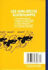 Verso de Schtroumpfs (Mini-récits) -1a- Les Schtroumpfs noirs