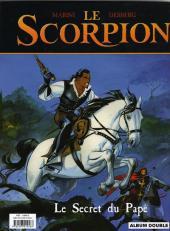 Verso de Le scorpion -INTFL1- La marque du diable / Le secret du Pape