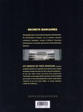 Verso de Secrets bancaires -5- Au-dessus de tout soupçon