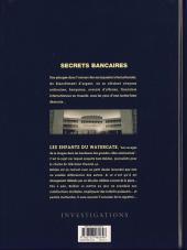 Verso de Secrets bancaires -7- Les enfants du Watergate
