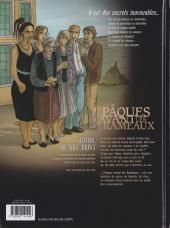 Verso de Secrets - Pâques avant les Rameaux -1- Pâques avant les rameaux