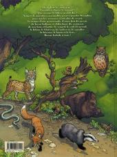 Verso de Séraphin et les animaux de la forêt - Tome 1