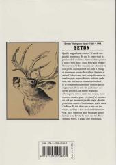 Verso de Seton -3- Sandhill stag'
