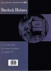 Verso de Sherlock Holmes (Duchâteau/Clair) -2- La béquille d'aluminium