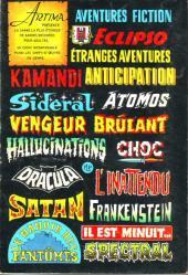 Verso de Sidéral (2e série) -60- Nos ancêtres de l'avenir